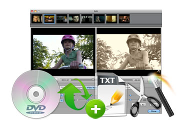 edit DVD video on Mac